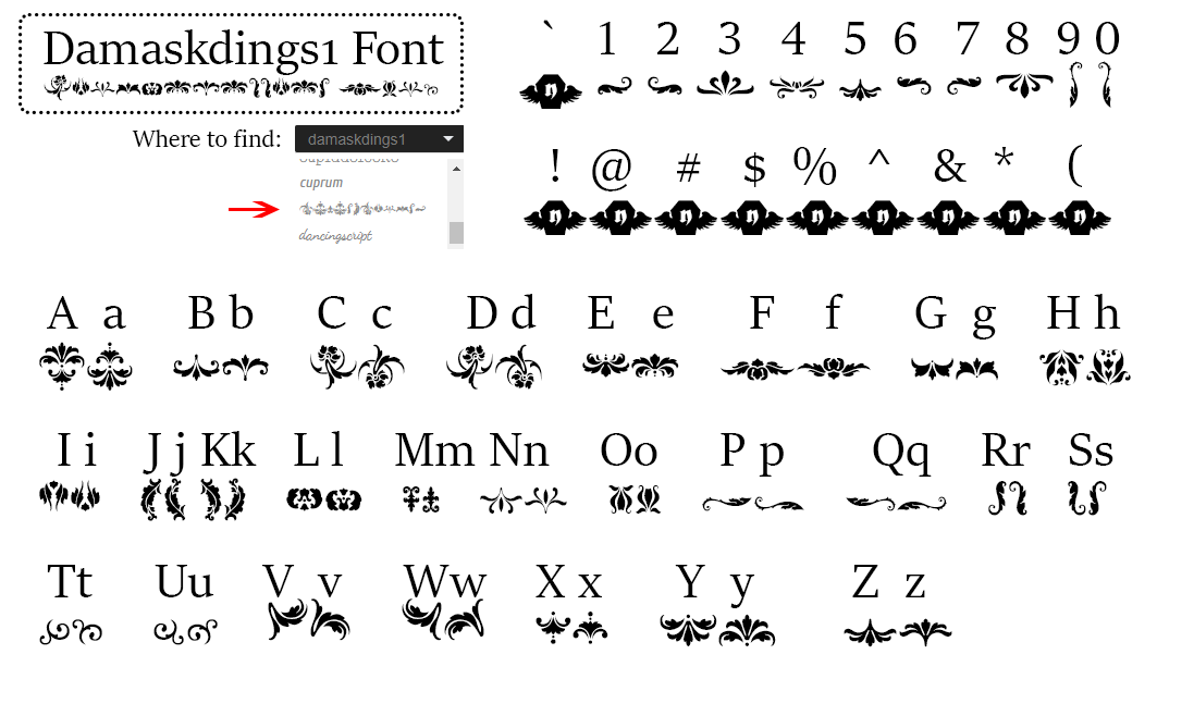 special-fonts-mak-merch-damaskdings